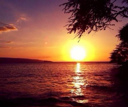 Sunset at Makena