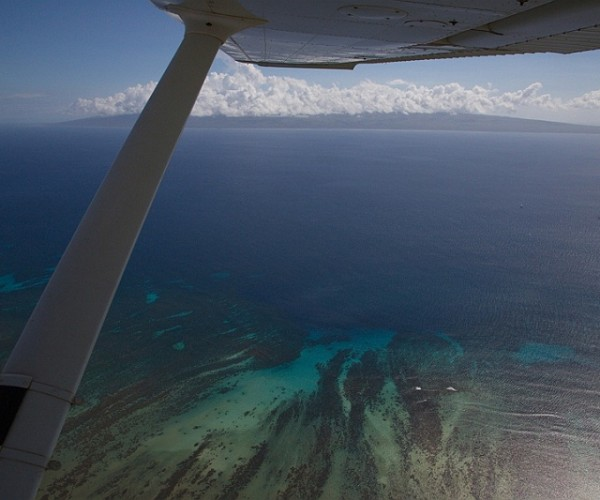 Coral Reef over Kaunakakai