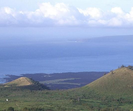 Flying over La Perouse / Southshore Maui